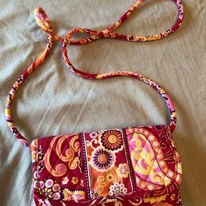 Vera Bradley Raspberry Fizz Large trifold wallet
